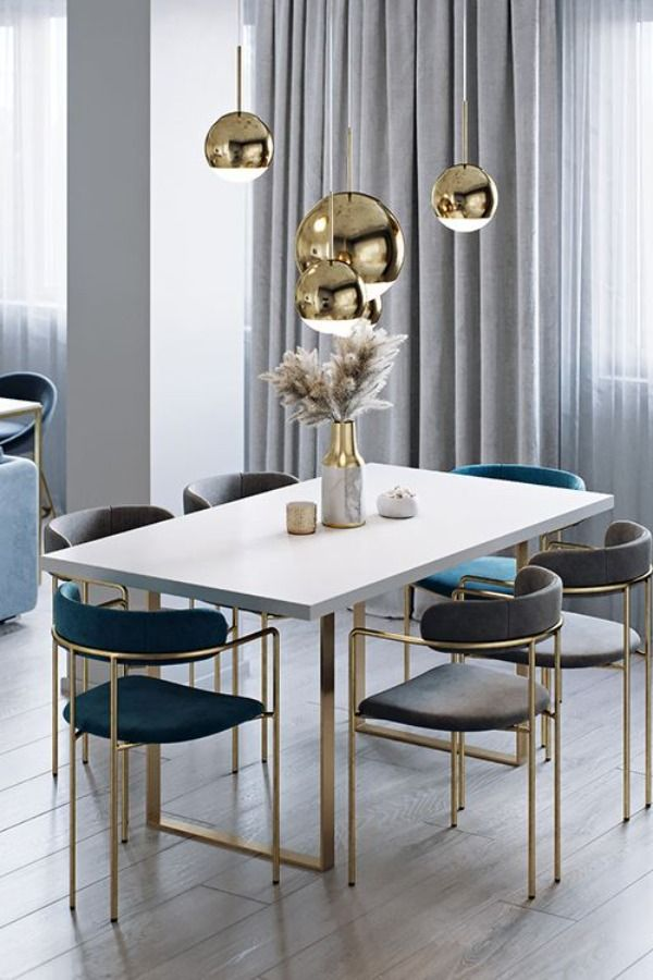 Contemporary Marble Dining Tables For An Imposing Dining Room Design