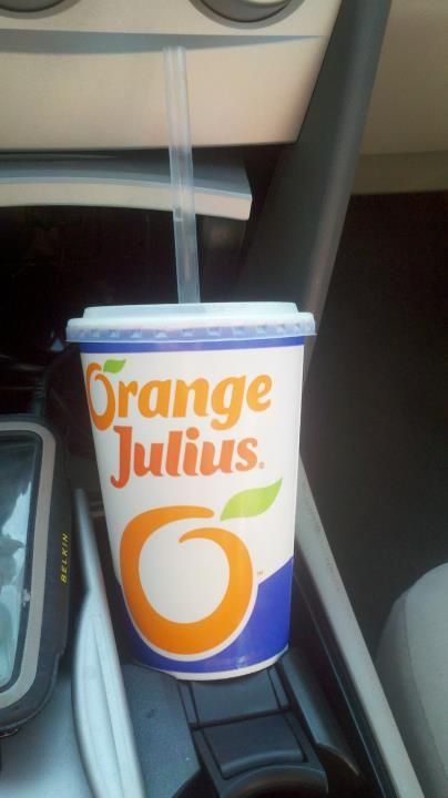 Hands down my drug of choice...Orange Julius: The greatest drink on Earth...period.
