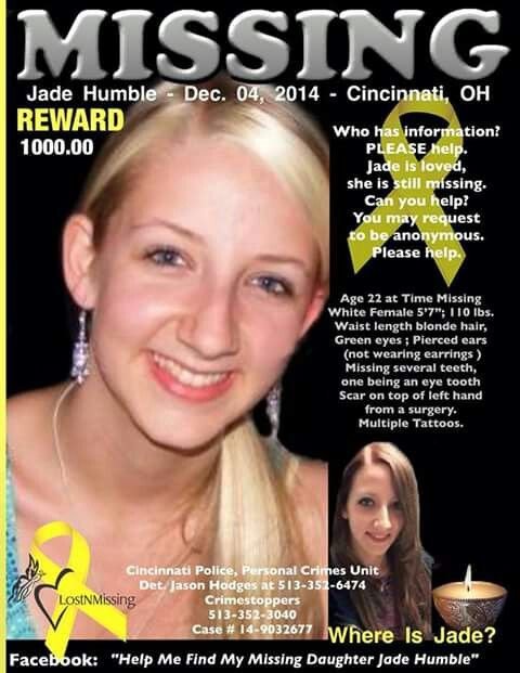 Missing from Cincinnati Ohio | Lost/Missing, please help and