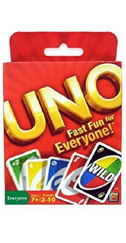 Original UNO Card Game - Lil Tank's Toy Box - 1