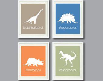 Dino Art Prehistoric Kids Room Decor Pinterest Kids Rooms