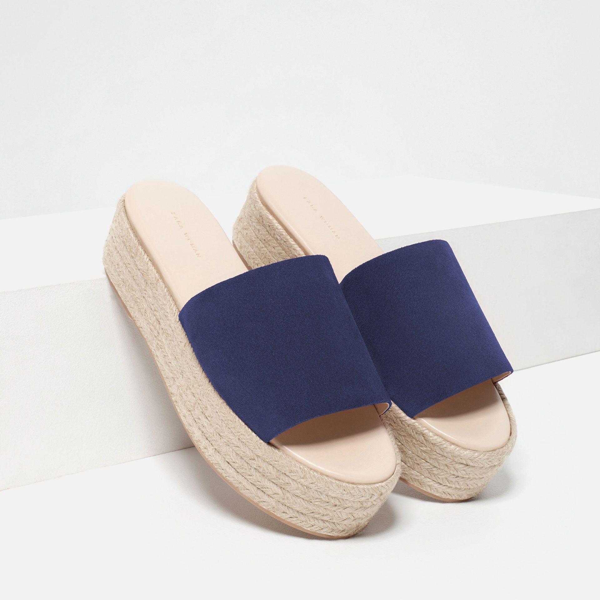 JuteZapatos Chaussures Plates ShoesSuede En Compensées KcJlF1