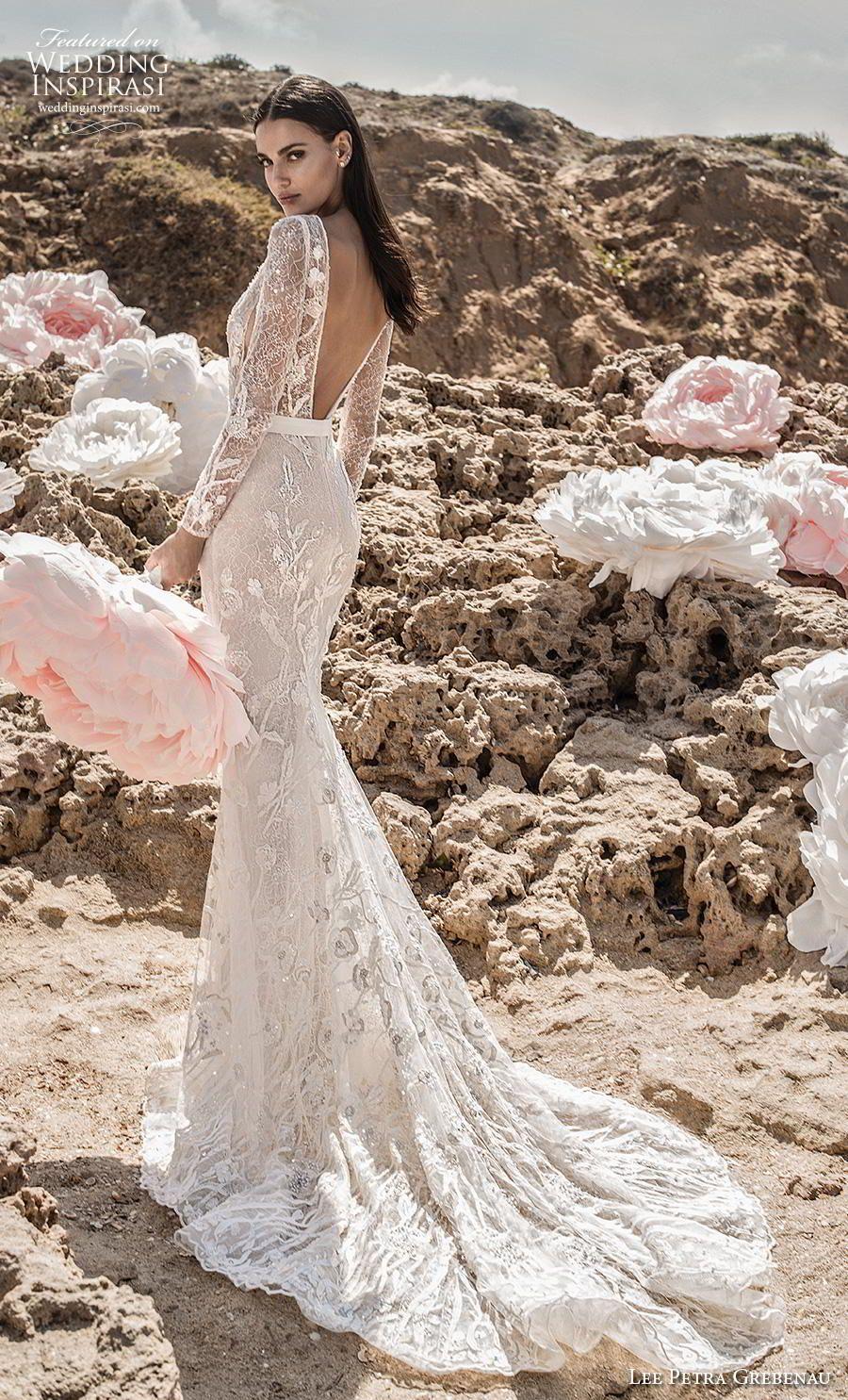 Lee Petra Grebenau 2019 Wedding Dresses Enchanted Blossom Bridal Collection Wedding Inspirasi Lace Wedding Dress With Sleeves Wedding Dress Guide Wedding Dress Long Sleeve [ 1485 x 900 Pixel ]
