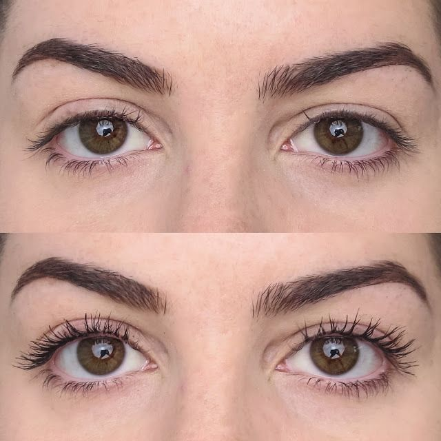 caed4b69638 Blossom in Blush - L'Oreal Voluminous Butterfly Sculpt Mascara (Before &  After)