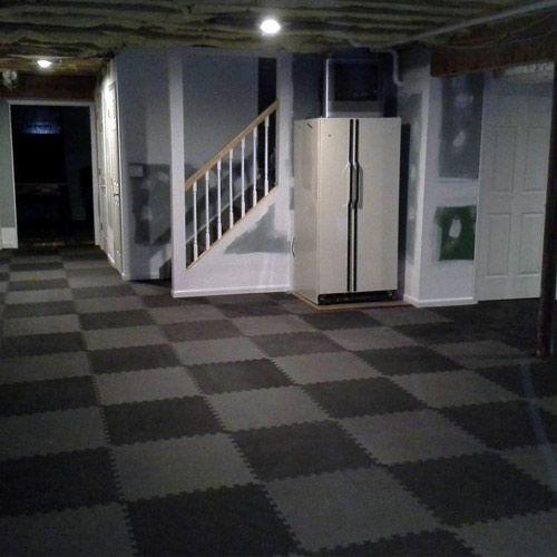 Interlocking Foam Play Mats For Kids Home Exercise Room Sports Foam Flooring Basement Flooring Waterproof Flooring