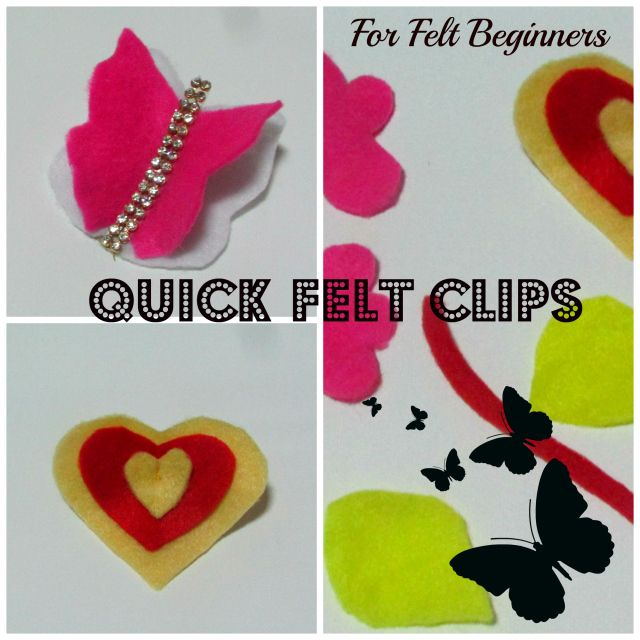 Some more Felt Clips.....I am just enjoying making this...discovering and exploring my interest in using Felt...If you have girls you will surely enjoy making these clips for them because it's that easy :) Click below and read the entire post :) If you like it please do subscribe yourself at my website www.letstrycreating.com and be the 1st one to receive many upcoming projects :) Thank you!