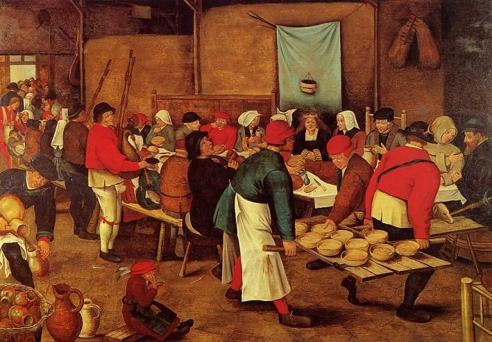 The Peasant Wedding By Pieter Brueghel Younger