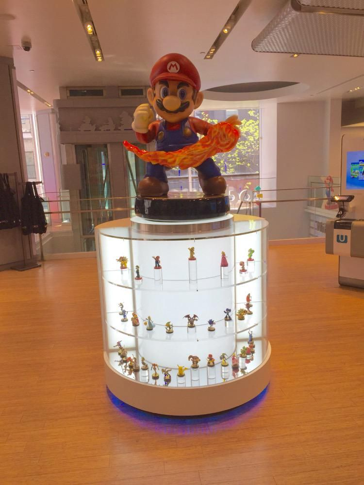 Nathan Wooten on Amiibo Amiibo display, Games room inspiration