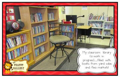 Behind the Scenes: My Classroom Library