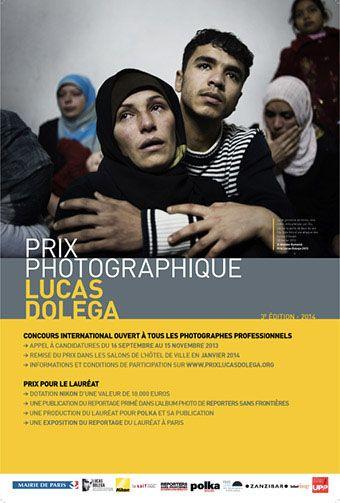 Lancement de la troisième édition du Prix Lucas Dolega