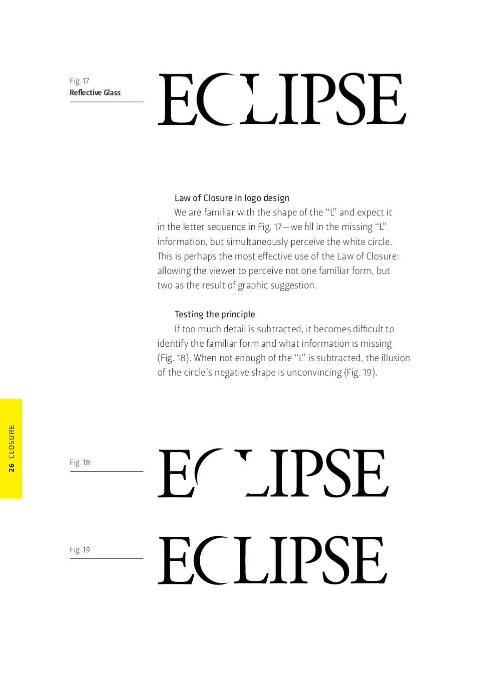 Gestalt Theory Visual Metaphor Logo Design Visual Metaphor