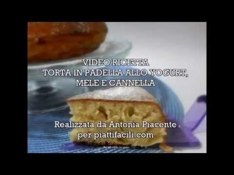 Torta in padella allo yogurt, mele e cannella - YouTube