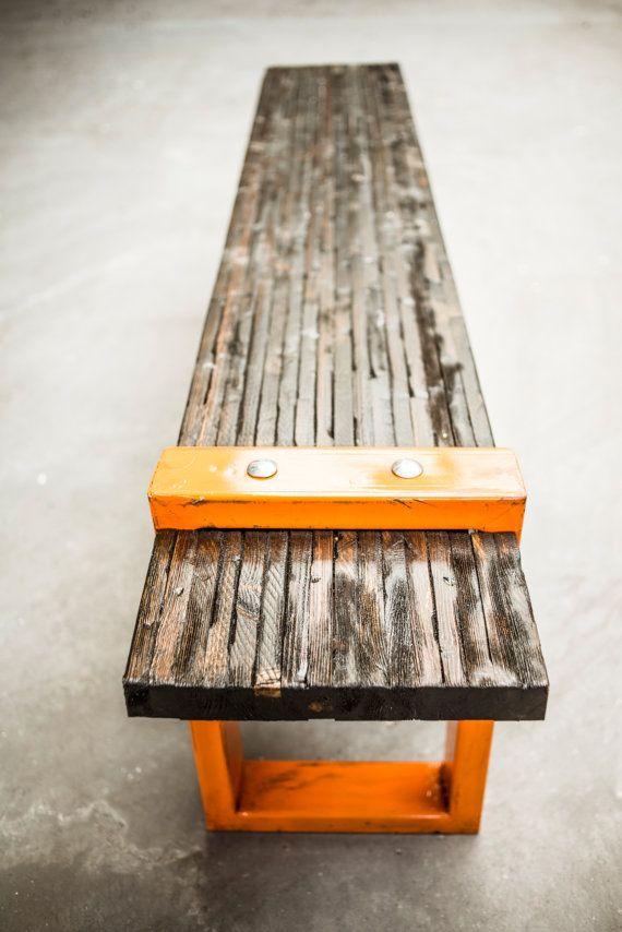 St. Aubin Bench by AntonMakaDesigns on Etsy