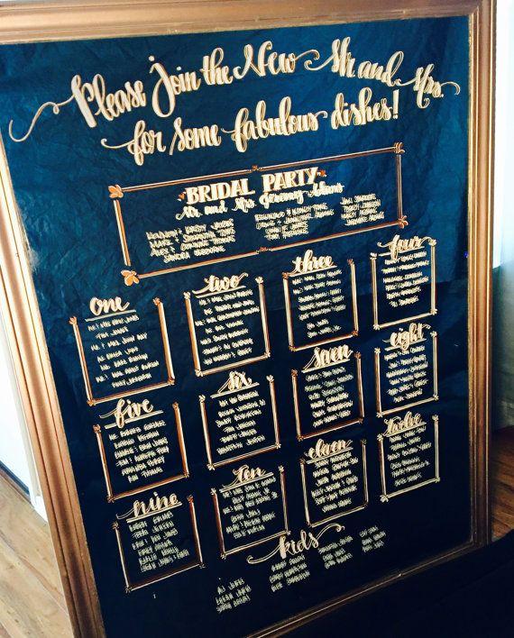 Mirror Seating Chart Wedding Seating Chart Seating Chart Wedding Mirror Wedding Calligraphy Contem Mirror Seating Chart Seating Chart Wedding Wedding Mirror