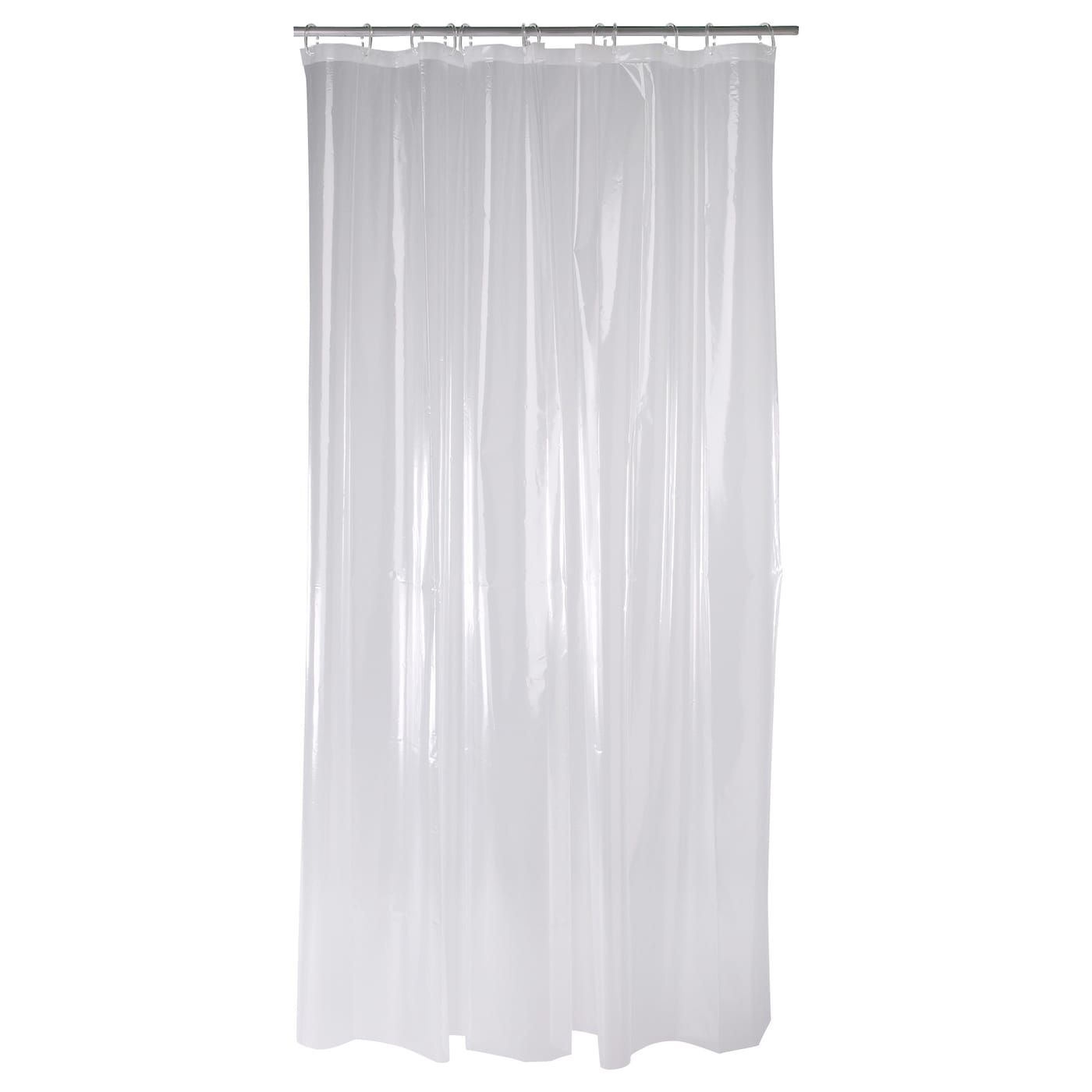 Nackten Shower Curtain Clear 71x71 Shower Curtain Plastic