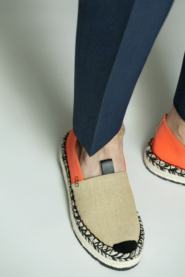 All Slip espadrilles Acne on linen Shoes The Studios celosia Juan pxwUq0nSav