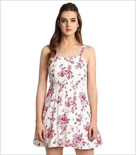 Stalk Buy Love White Ersatz Dress