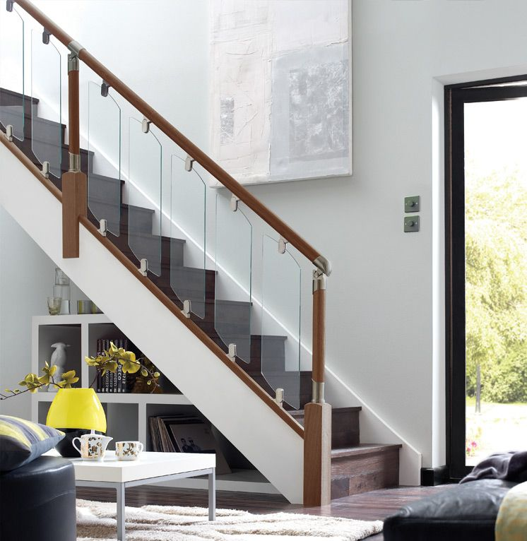 Best Fusion Stair Parts Modern Staircase Modern Staircase 400 x 300