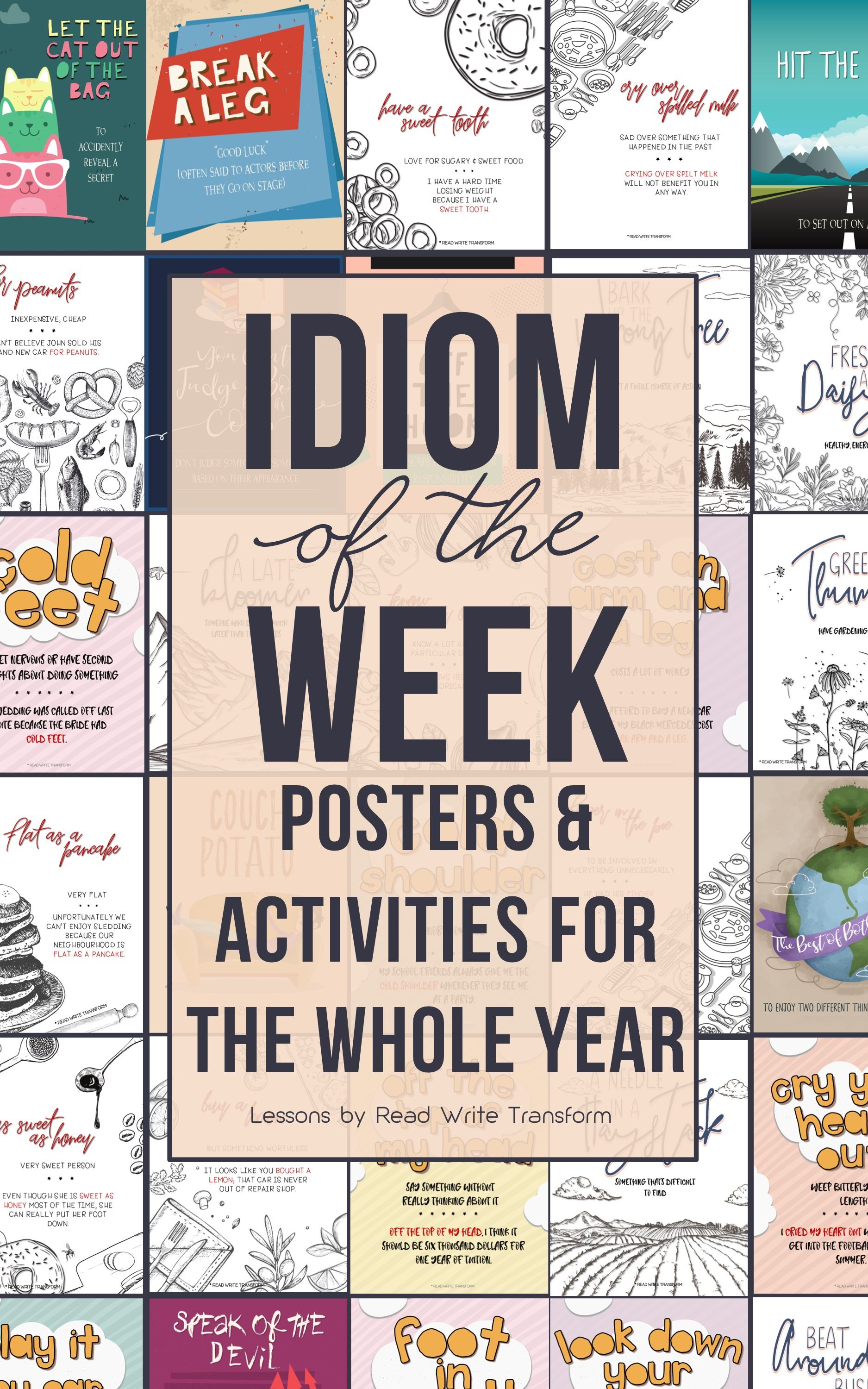 Bundle Idiom Of The Week Day