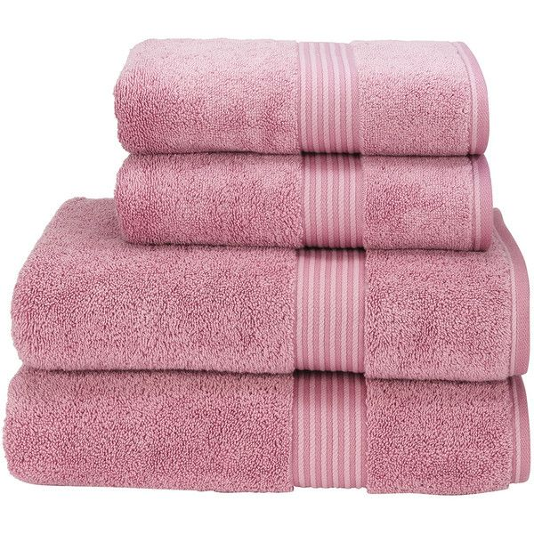 Supreme Hygro US Bath Sheet Color: Blush ($66) ❤ liked on Polyvore featuring home, bed & bath, bath, bath towels, fillers, colored bath towels and christy bath towels