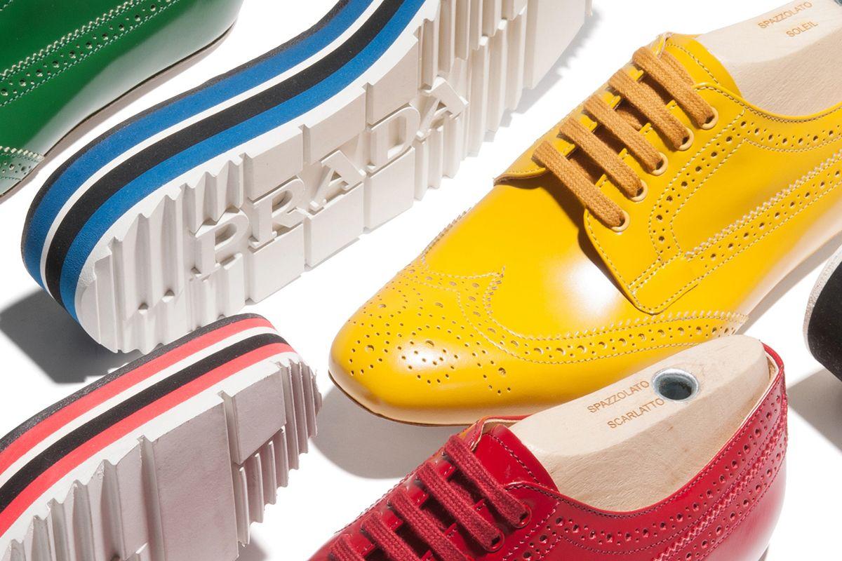 0dd1d259b7ef Prada Micro Soles Shoe Collection