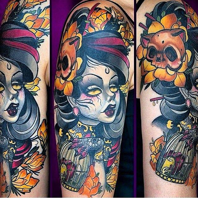Jesse Smith Tattoos Richmond Virginia Tattoo Artist Tattoos Animal Tattoo New School Tattoo