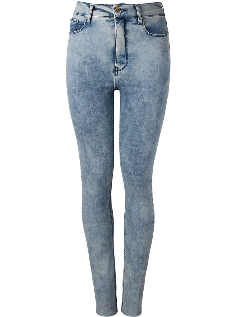 Amapô Calça Jeans Skinny Cintura Alta - Amapô - Farfetch.com