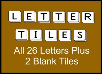 Alphabet Letter Tiles Clip Art  Alphabet Letters Clip Art And