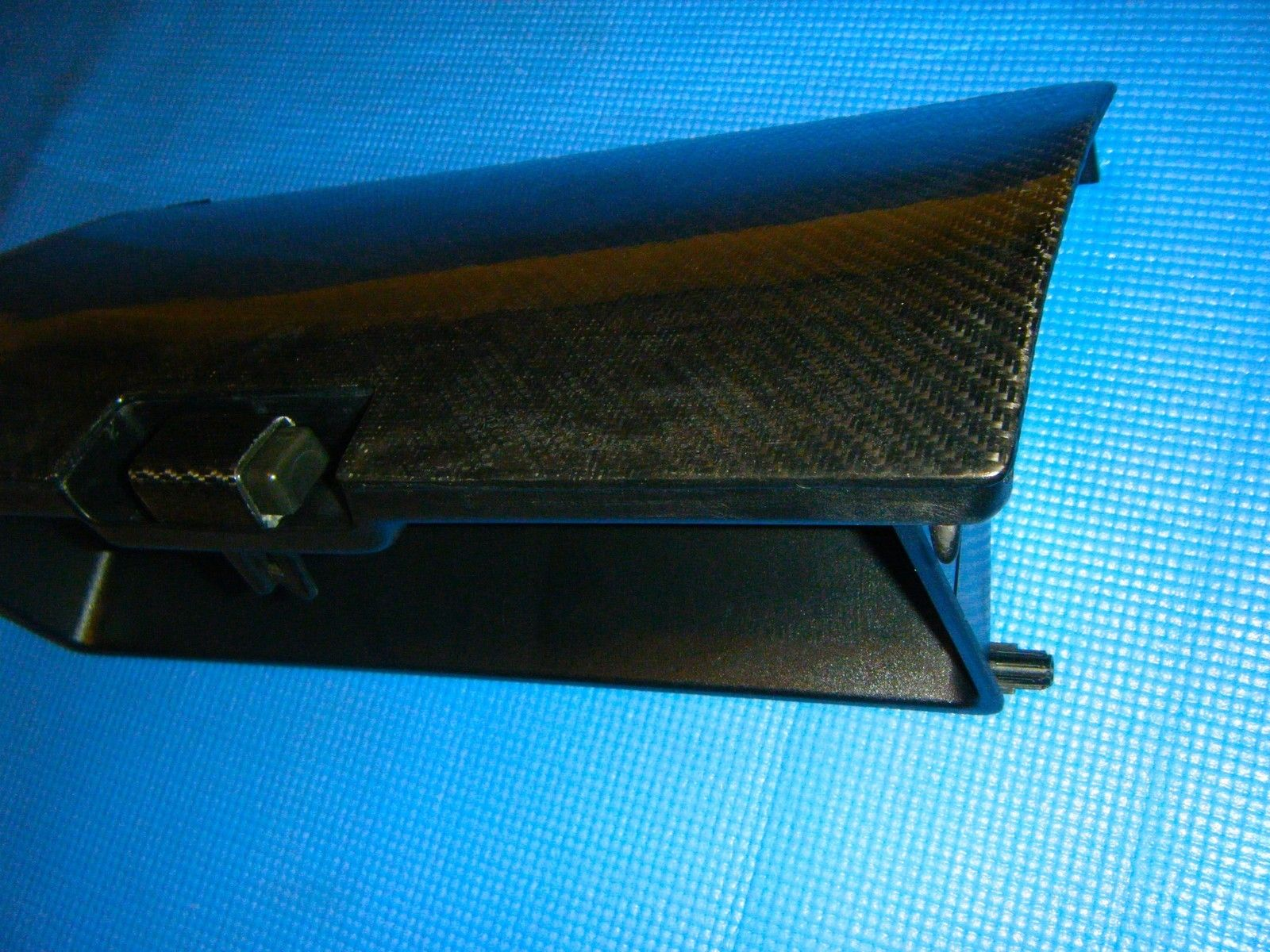 jdm honda civic ef9 crx ef8 sir carbon fiber covered glove box oem 88 91 ebay [ 1600 x 1200 Pixel ]
