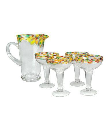 Loving this Rio Margarita Glass Set on #zulily! #zulilyfinds