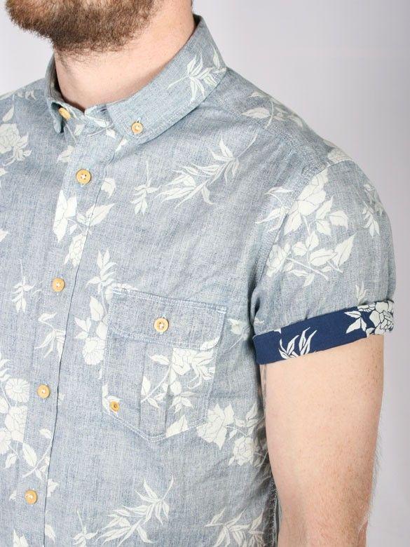 353ae8397b90 Like this floral print shirt with the contrast cuff!  wefashion  mensfashion