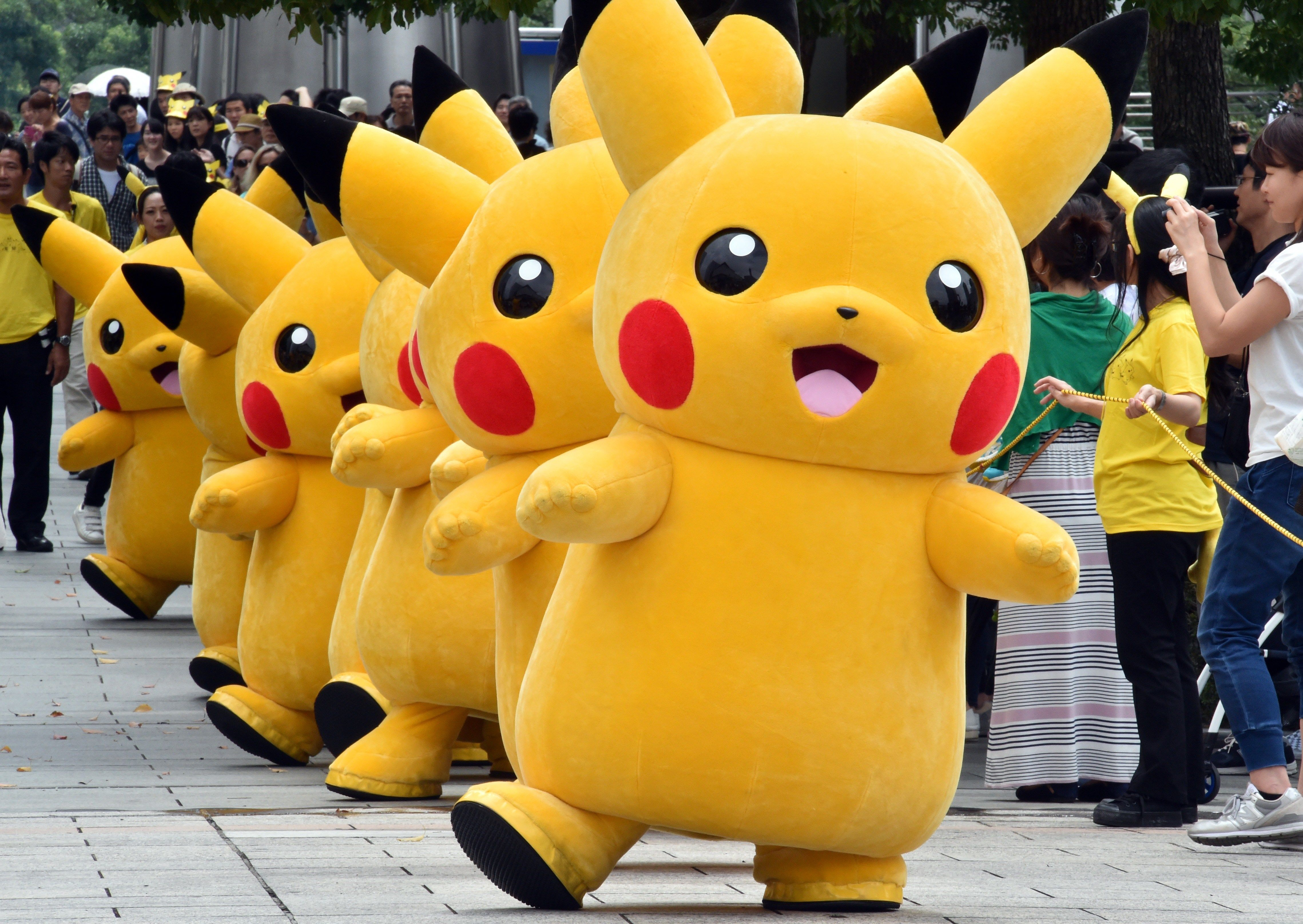 What Is Pokemon Go And Why You Should Care Pikachu Mascot