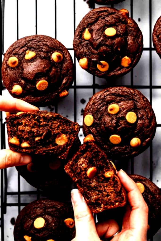 #kindergeburtstag #healthymuffins #chocolate #herzhaft #healthy #recipes #fitness #muffins #einfach...