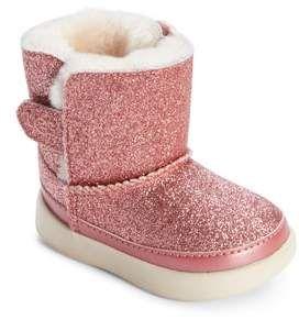 e2e860f57f4 Infant Girl's Ugg Keelan Glitter Genuine Shearling Boot, Size 2/3 M ...