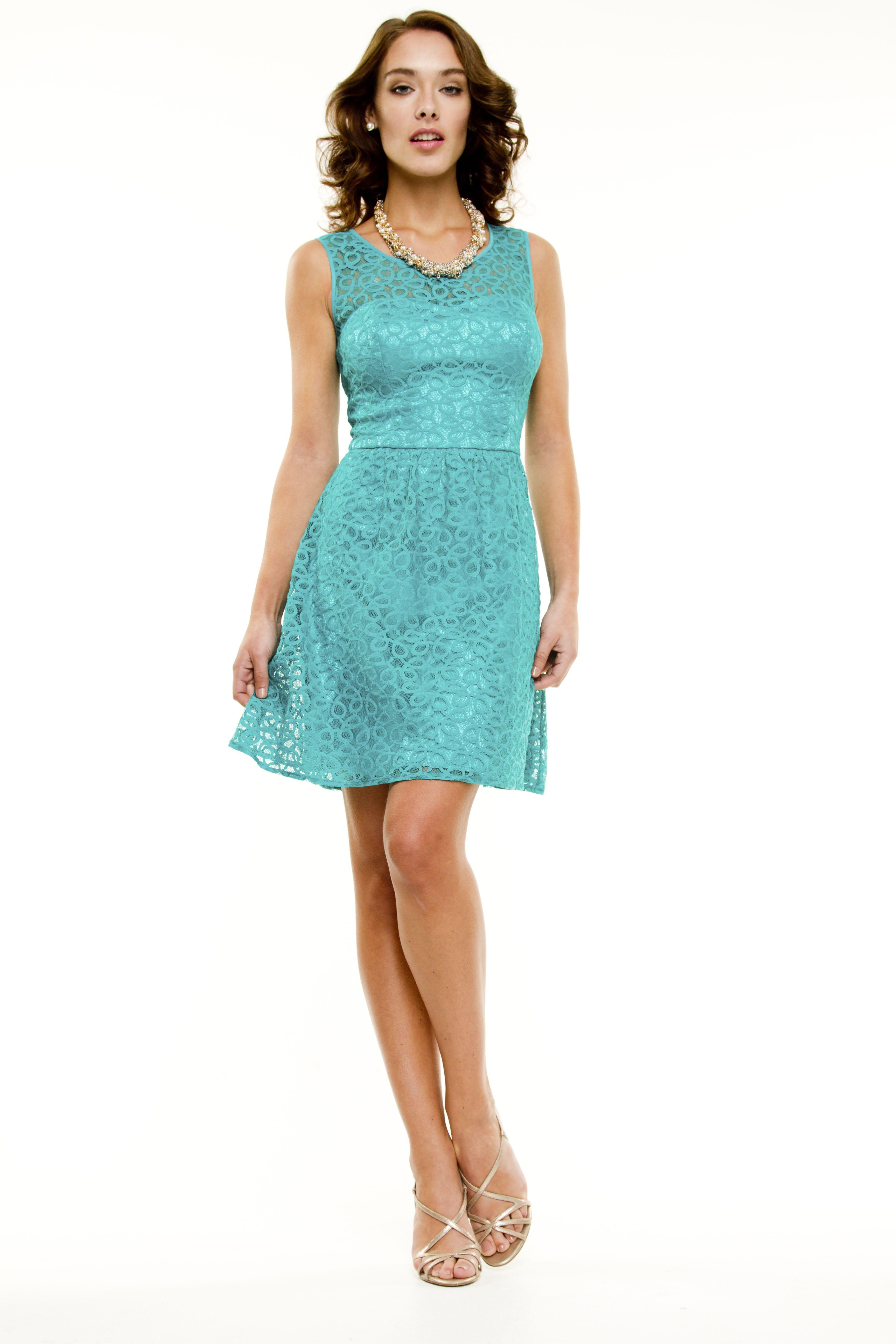 Le Château: Lace Fit And Flare Dress | Closet | Pinterest ...