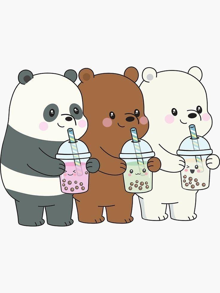Pin De Evelinmejia En We Bare Bears Dibujos Kawaii De Animales Pandas Animados Fondos De Pantalla Panda