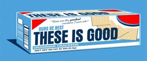 Grammar crackers website. Variety of grammar lessons.