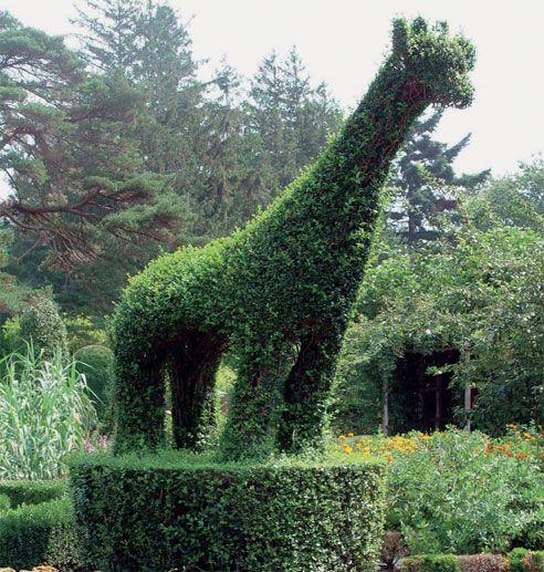 For The Gardener: Rhode Islandu0027s Green Animals Topiary Garden