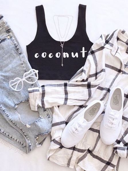 The perfect #OOTD  Customize on QTee.com!
