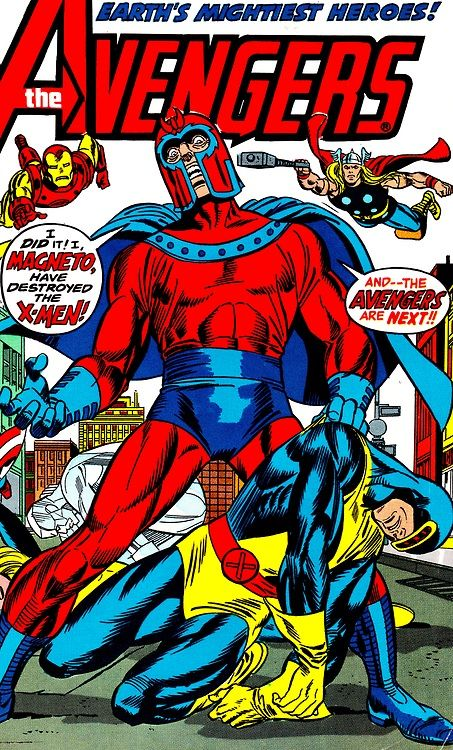 Avengers #110 (April 1973) Cover Art by Gil Kane, Frank Giacoia & Gasper Saladino