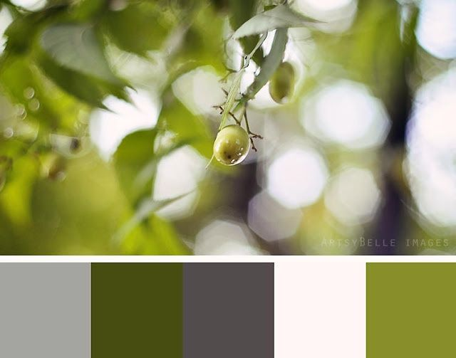 Olive green grey this is my new color scheme loving it - Olive green and grey ...