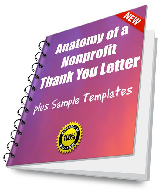 Anatomy Of A Nonprofit Thank You Letter Plus Sample Template