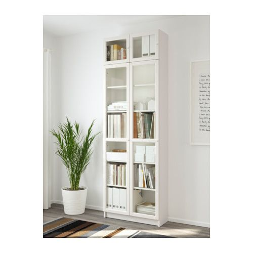 Ikea Billy Oxberg White Bookcase Ikea Hacks In 2019