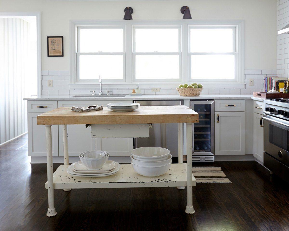 Shelf over kitchen window  designer alexander reid calls it