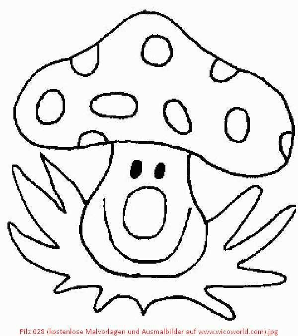 Pilz 028 Kostenlose Malvorlagen Und Ausmalbilder Auf Www Wicoworld Com Jpg 600 678 Basteln Basteln Mit Kindern Kostenlose Malvorlagen