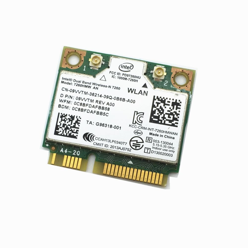 Wholesales For Intel Dual band Wireless-N 7260 7260HMW AN 2 4G/5Ghz