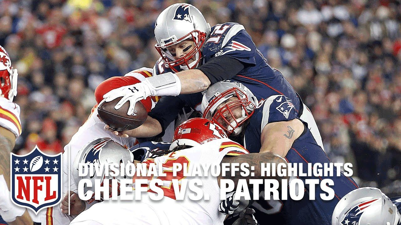 Chiefs Vs Patriots Divisional Playoff Highlights Nfl Nfl Chiefs Patriots New England Patriots