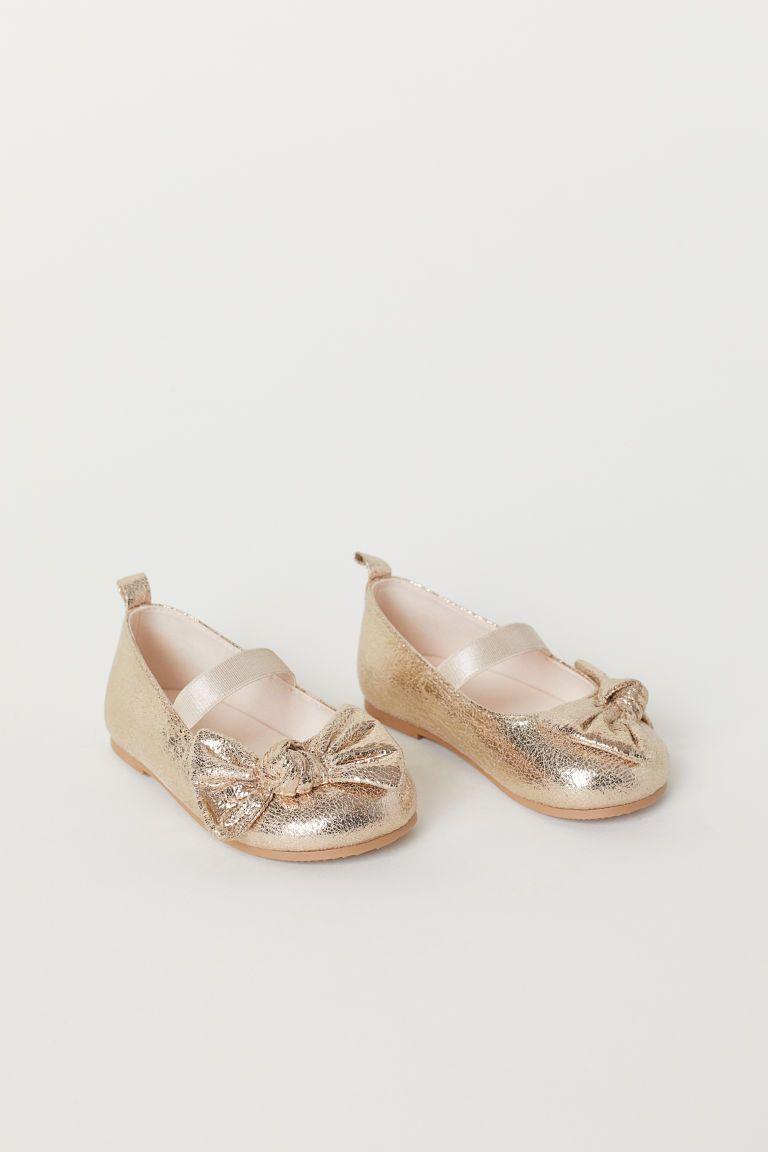 c85020a5fe0 Ballet Flats - Gold-colored - Kids