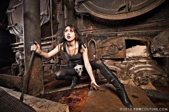 Elena Sanders Steampunk Shoot