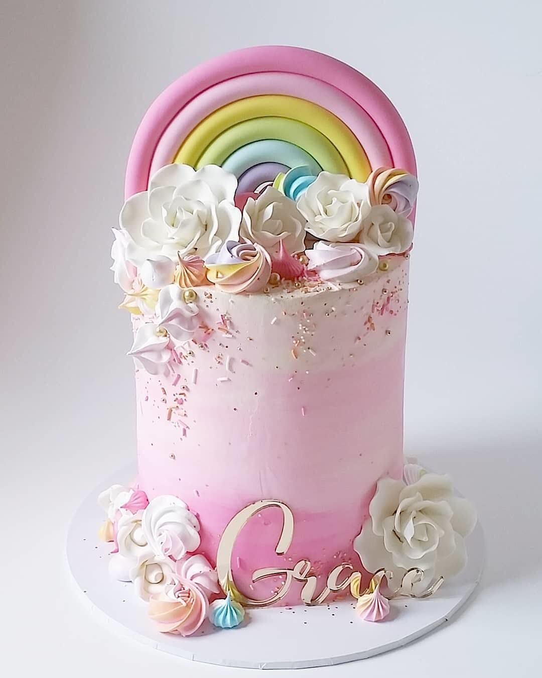 Rainbow Cake Birthday Rainbow Birthday Cake Pastel Rainbow Cake Rainbow Cake